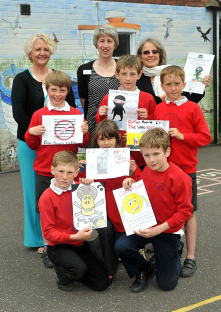 Brancaster Primary School pupils