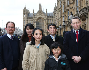 Winner of the South Chihiro Nagano Stephen Perse Foundation Junior Teacher Mr. Gordon West MP Dr Julian Huppert