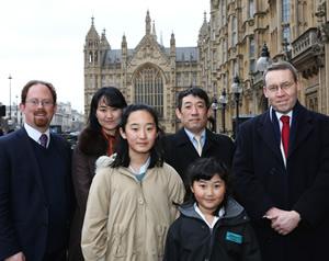 Winner of the South Chihiro Nagano Stephen Perse Foundation Junior Teacher Mr. Gordon West MP Dr Julian Huppert