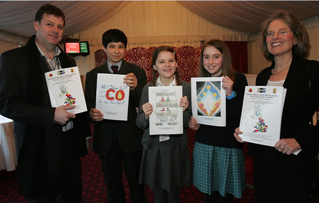 Denis Kerby, Head of Corporate Communications, Scotia Gas Networks, Daryoush Shirazi, entered on his own account, Sussex House School, Isobel Porter, from the  William Ransom Primary School, (teacher Steve Mills), Francesca Pitfield, Sheffield High School, (teacher Sarah Groombridge) and then Stephanie Trotter OBE, President & Director CO-Gas Safety.